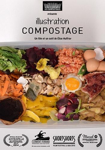Ilustración del compostaje