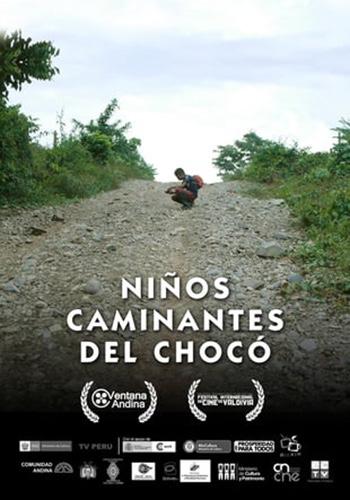Niños caminantes del Chocó