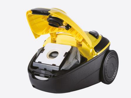 Combo Aspiradora Polvo + Limpiadora A Vapor Karcher
