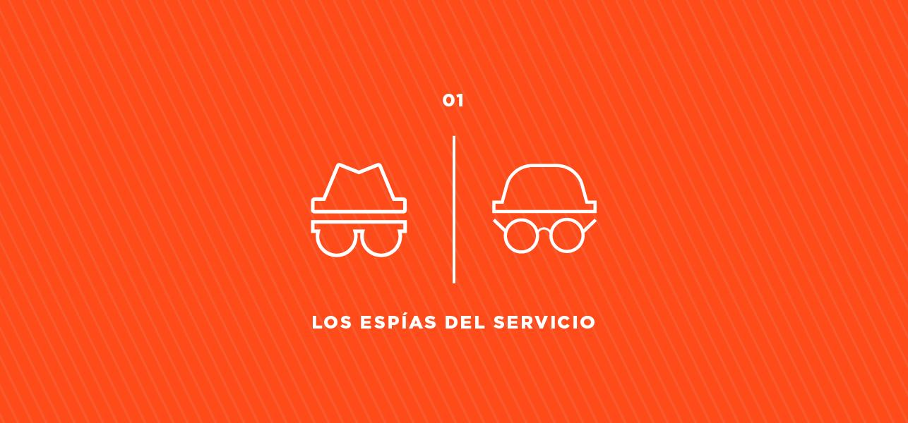 Los espías del servicio