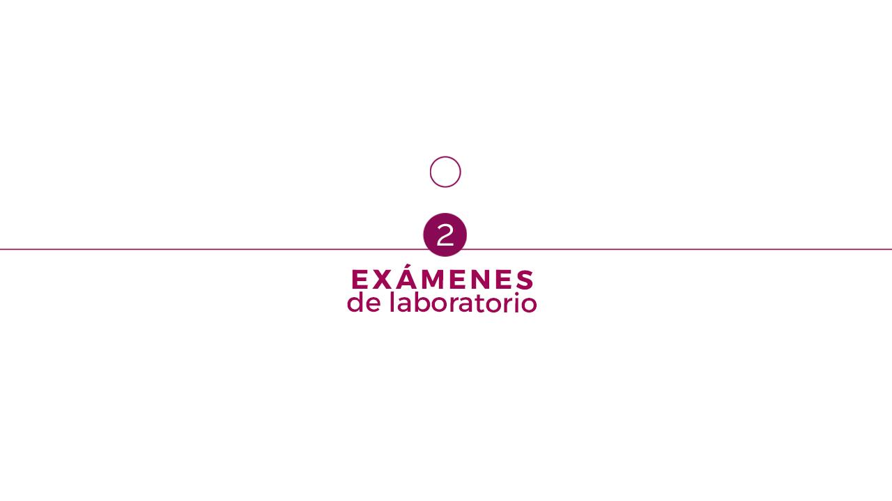 2. Exámenes de Laboratorio
