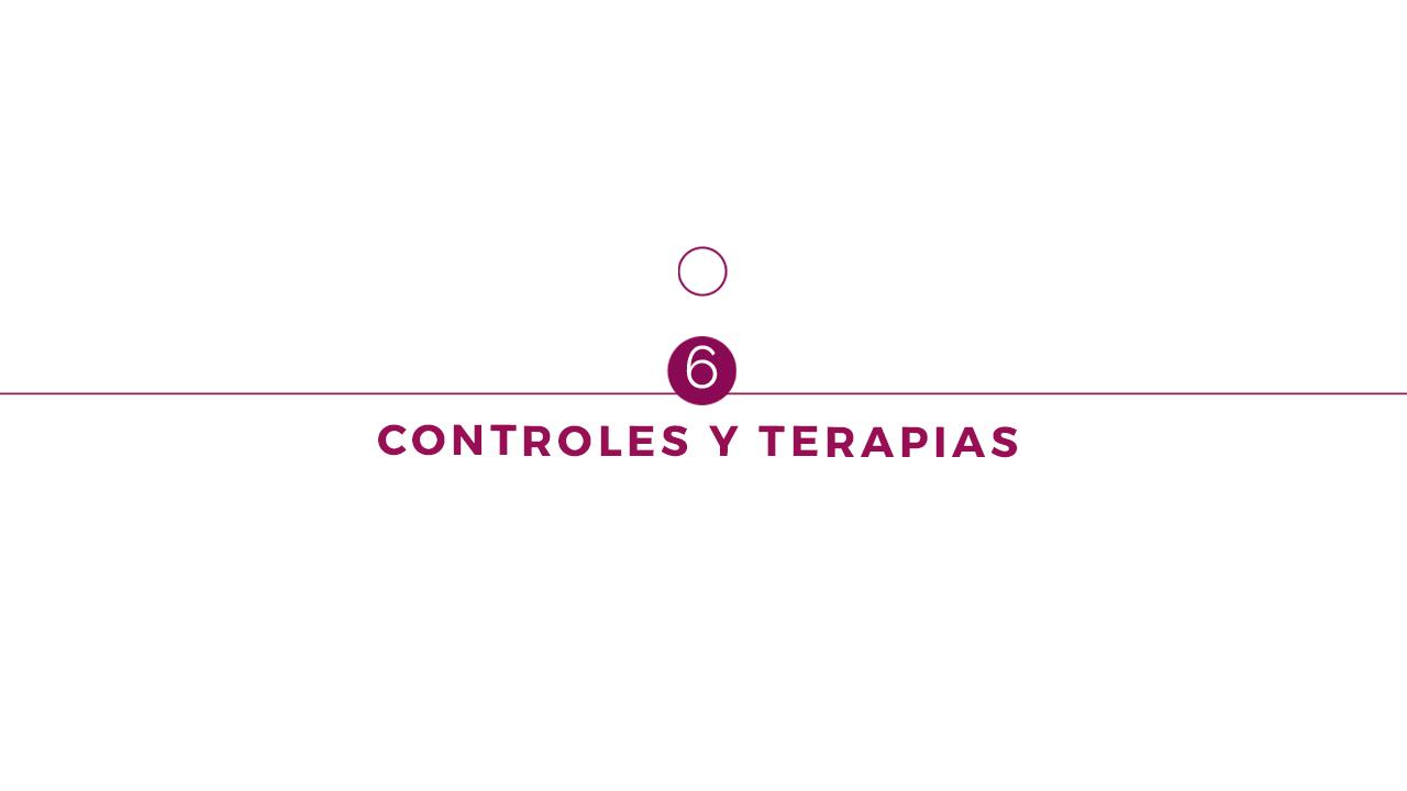 6. Controles y terapias
