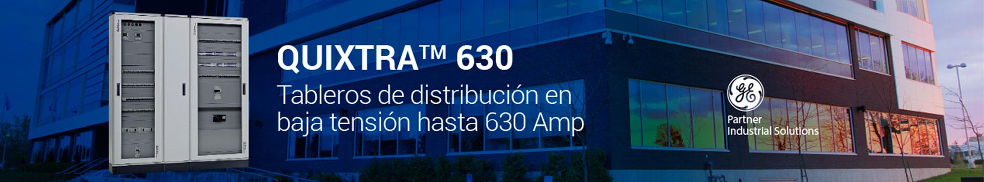 Tableros de distribución en baja tensión hasta 630 Amp
