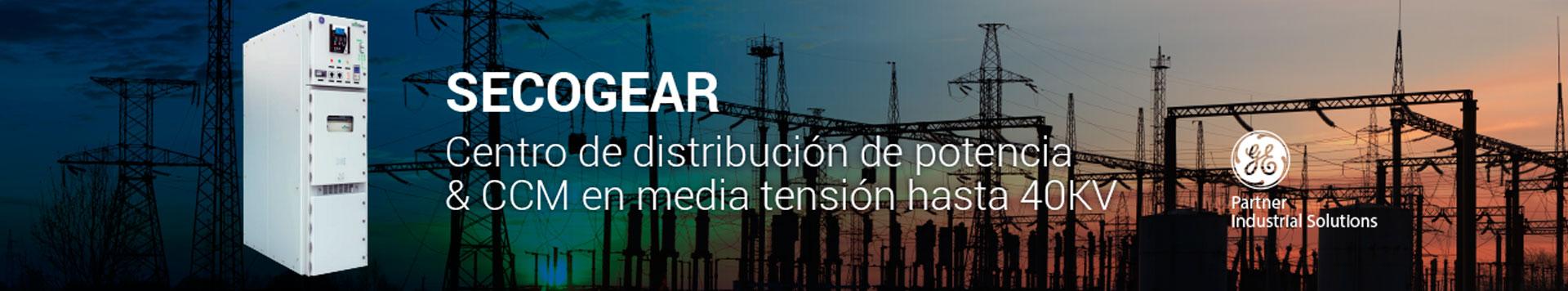 Centro de distribución de potencia CCM en media tensión hasta 40KV