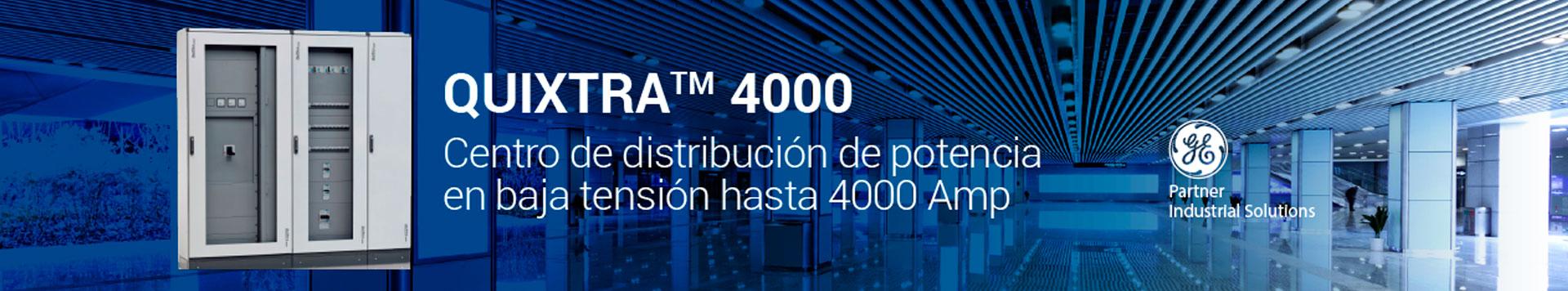 Quixtra 4000 - Centro de distribución de potencia en baja tensión hasta 4000 Amp