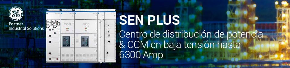 Sen Plus - Centro de distribución de potencia CCM en baja tensión hasta 6300 Amp